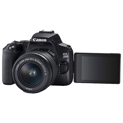 نمای جلوی دوربین Canon EOS 250D EF-s